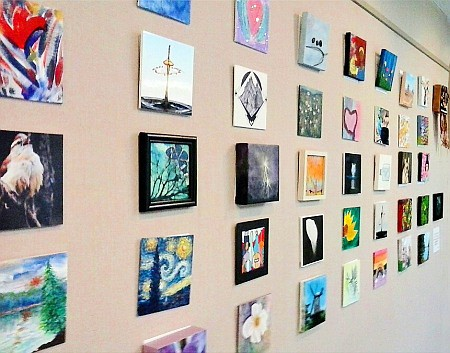 Gallery Exhibit: What's On Your Walls/Tiny Prints