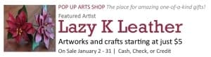 Lazy K Leather @ Cultural Arts Council of Douglasville/ Douglas County | Douglasville | Georgia | United States