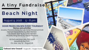 A Tiny Fundraiser Reception @ Cultural Arts Council of Douglasville/ Douglas County