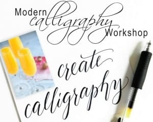Mimosa and Modern Calligraphy with Mar Pierce @ Cultural Arts Council Douglasville/ Douglas County