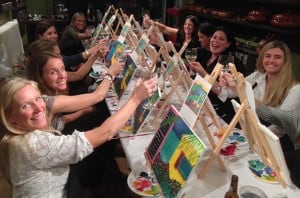 Paint and Sip Night Out with Elisheva Pierce @ Cultural Arts Council Douglasville/ Douglas County