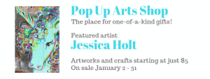 Pop Up Arts Shop: Jessica Holt @ Cultural Arts Council of Douglasville/ Douglas County