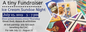 A Tiny Fundraiser @ Cultural Arts Council of Douglasville/ Douglas County