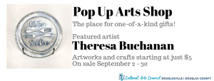 September Pop Up Arts Shop @ Cultural Arts Council