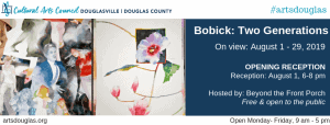 Bobick: Two Generations Exhibit @ Cultural Arts Council