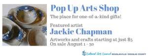 August Pop Up Arts Shop @ Cultural Arts Council